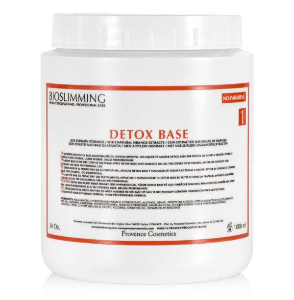 Trattamento Detox corpo Base Step 1
